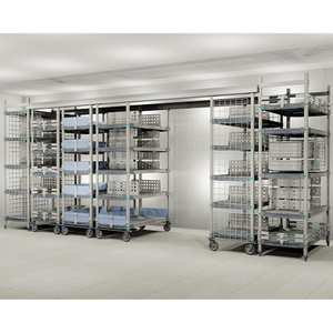 High Density Top Track Wire Mobile Shelving System