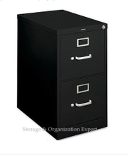 Modern Design 2 Drawers Vertical File Cabinet for Legal Size Hanging File