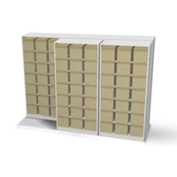 Sliding Aside Storage Cabinet on Rails for Box Files Hanging Files