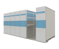 24 Bays High Density Mobile File Storage Rack System